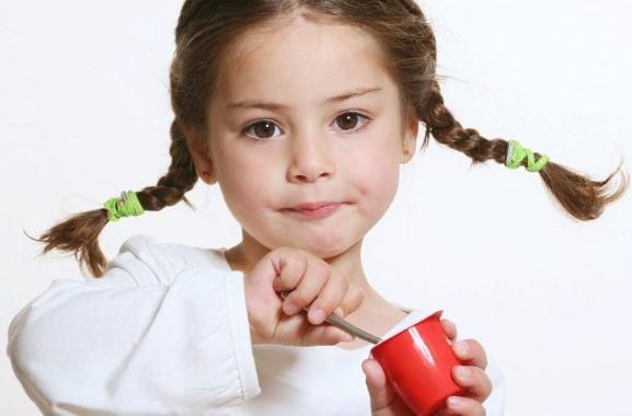 dentista infantil yogur